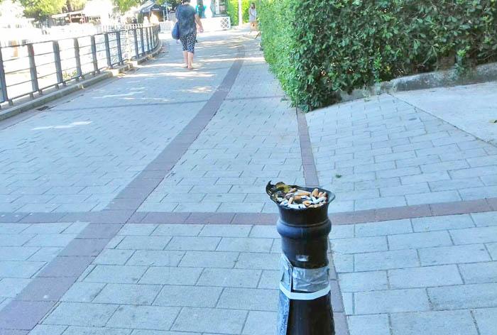 Vandali ne miruju: Na Šetalištu sve više uništenih stubova javne rasvjete